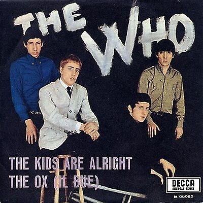 The Who The Kids Are Alright 7″, Single Brunswick – 05965 Italy 1966 VG/G+