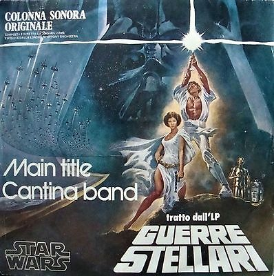 The London Symphony Orchestra Star Wars (Main Title) – Guerre Stellari 7″, Si...
