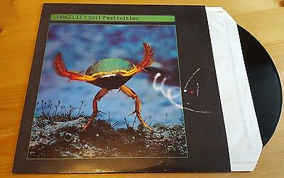 Vangelis - Soil Festivities LP Vinyl Album Original 1984