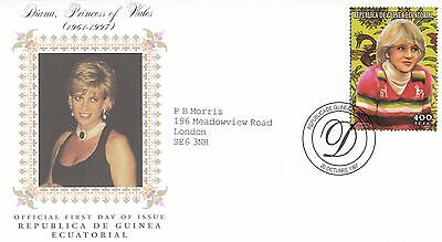 (02373) Equatorial Guinea FDC Princess Diana Death 20 October 1997
