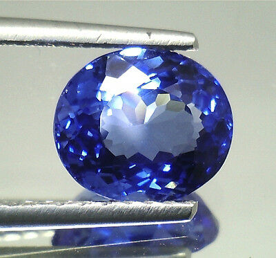 Quarzo  Naturale Tanzanite Spettacolare Vvs  If Ct.5,13