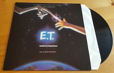 John Williams - E.T The Extra Terrestrial LP Vinyl Album Soundtrack