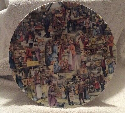 Vintage Davenport Pottery Limited Edition Plate - Street Chorus - Brian Eden
