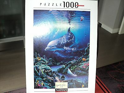 Puzzle 1000 pièces - Nathan / Collection Blue Ocean