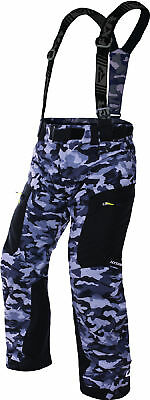 FXR Mens Grey Urban Camo Squadron Insulated Snowmobile Pants Snow Snocross