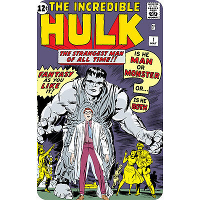 The Incredible Hulk 1 (Marvel) Comic Book Cover Fridge Magnet