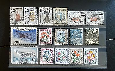 Timbres France Divers Taxe P A Obliteres