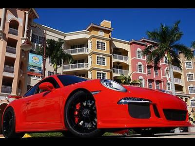2014 Porsche 911 GT3 991 PDK 911 Turbo S 6 speed stick manual cab coupe Red gt2 gt4 gt2 rs gt3 rs