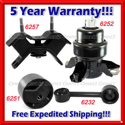 K132 Fit 94-96 LEXUS ES300 3.0L ENGINE /& TRANS /& TORQUE STRUT MOUNT SET 4PCS