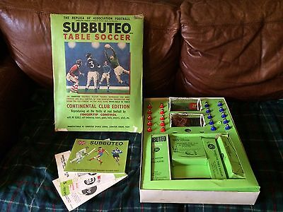 Vintage Subbuteo Association Football Table Soccer Boxed Set
