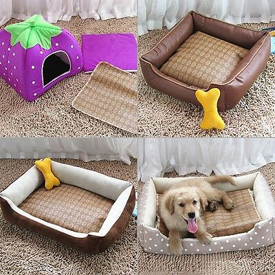 Washable Summer Self Cooling Pet Dog Puppy Cat Pad Bed Mat Cushion Hot Weather