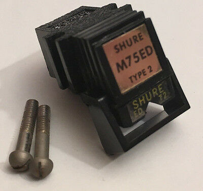 Shure M75Ed Type 2 Vintage Stereo Turntable Cartridge Working