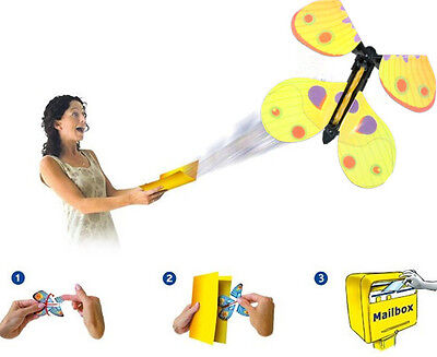 The Magic Flying Butterfly Funny Prank In Greenting Cards