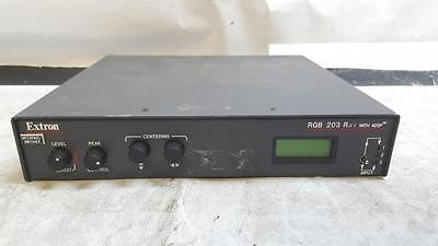 Extron RGB 203 Rxi 3 Input Universal Computer Video Interface with Audio