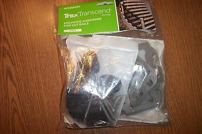 Trex Transcend Mounting Hardware For Cut Stair Rails  Gravel Path NEW