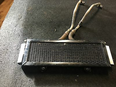 Yamaha Xjr1300 Oil Cooler Front With Guard Of A 2013 Model
