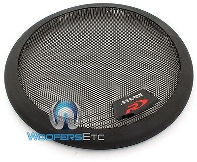 """Alpine Kte-8G 8"""" Type-R S E Grille Protective Cover Grill Subwoofer Speaker New"""