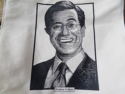Stephen Colbert Late Show Barnes & Noble Large Tote Bag!! Rare!! Must Have!!