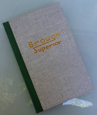 Brough Superior Motorcycle Book  Jap Ss100 Ss80 Harley V Twin Indian Bsa Ajs Mag