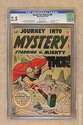 Thor (1962-1996 1st Series Journey Into Mystery) #86 CGC 2.5 0232340007