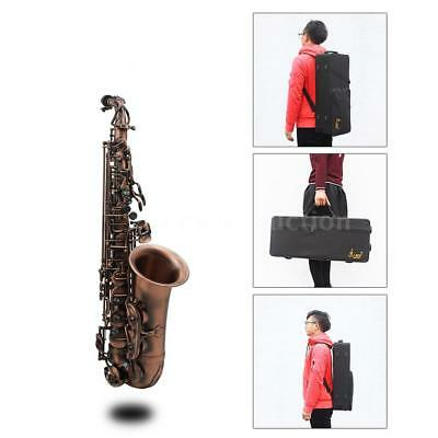 Alto Saxophone Red Bronze Bend Eb E-flat+Care Kit for Student teacher Experts