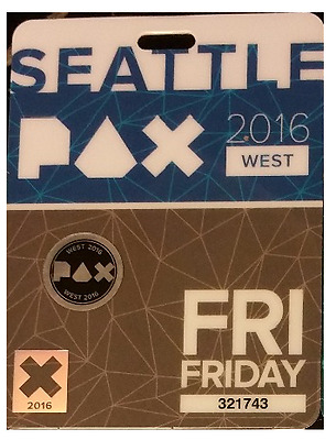 Pax West Badges (Prime) 2017 - 1 Day - Friday Only