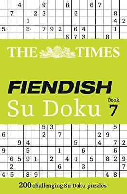 The Times Fiendish Su Doku Book 7 by The Times Mind Games | Paperback Book | 978