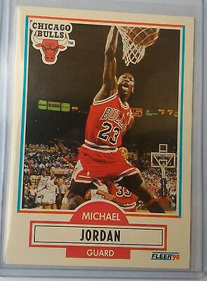 MICHAEL JORDAN 1990-91 FLEER CARD: #26 - Pack Fresh