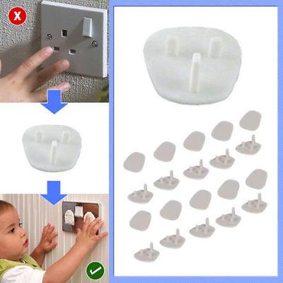 Plug Socket Cover Baby Proof Child Safety Protector Guard Mains Electrical