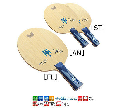Butterfly Timo Boll ALC Table Tennis Racket (FL/ST) Wood Ping Pong Blade Paddle