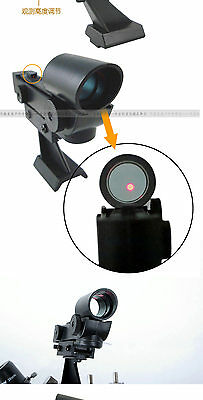 New Red LED Dot Finder Scope for Astronomy  Telescopes Dovetail finderscope lens