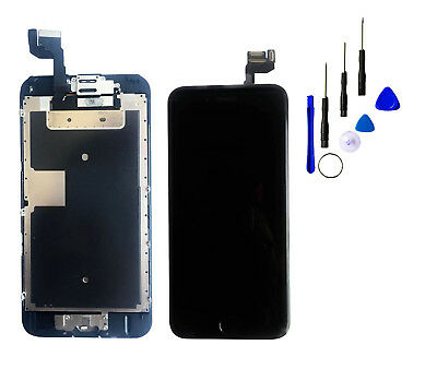 """Black iPhone 6S 4.7"""" Touch Screen Digitizer Replacement with camera homebutton"""