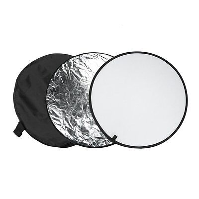 60cm 80cm 5in1 Photography Studio Light Mulit Collapsible disc Reflector AU