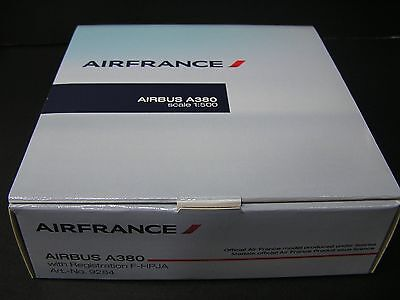 Hogan 1:500 AIR FRANCE Airbus A380 DieCast model F-HPJA