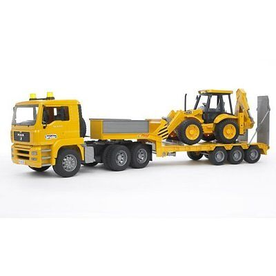 Man Truck With JCB