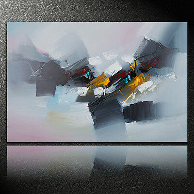 Wall Art Decor Oil Painting 80x120cm Canvas Modern Abstract With Frame