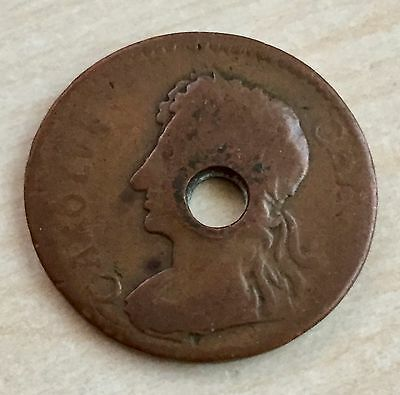 1676 impossible date Charles II Copper Farthing - Unique!! (A115)