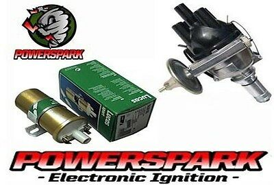 Electronic 25D4 distributor & Lucas Gold Sports coil Triumph TR4 and more