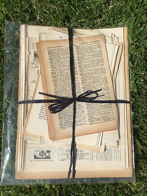 Old Book Pages Vintage Paper Music Sheets Antique Paper Craft Paper Gift Pack