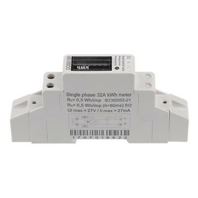 Energy Power 32A Electricity Din Rail Kilowatt Hour Meter Single Phase Kwh