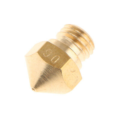0.2-0.8mm Extruder Brass Nozzle for MK10 Makerbot 1.75mm Filament 3D Printer