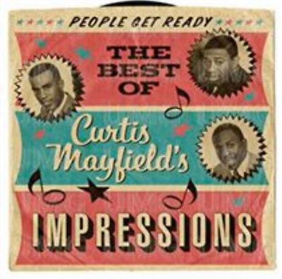 Curtis Mayfield and The Imp...-People Get Ready  (UK IMPORT)  CD NEW
