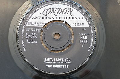 The Ronettes - Baby, I Love You, London Records