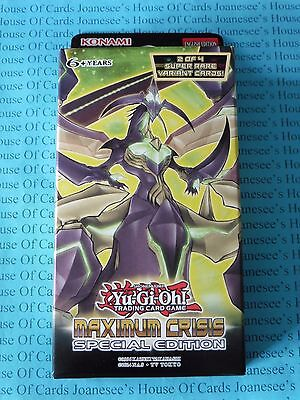 Yu-gi-oh Maximum Crisis Special Edition English NEW BNIB