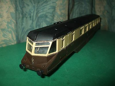 LIMA GWR CHOCOLATE AND CREAM RAILCAR BODY ONLY - No. W22