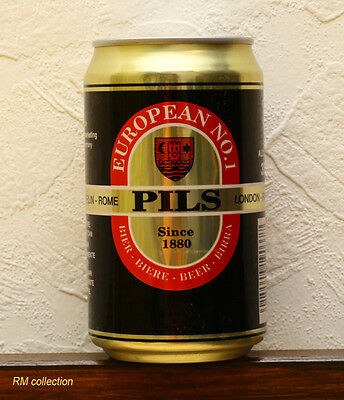 European No1 1993 beer can empty