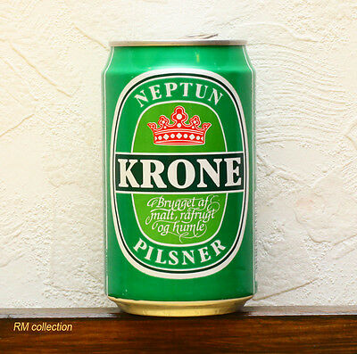 Neptun Krone 1993 Danish beer can empty