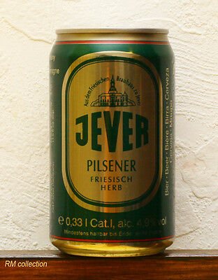 Jever 1993 beer can empty