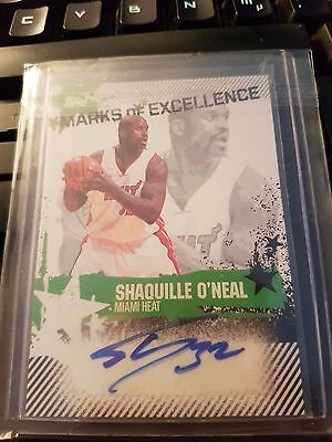2006-07 Topps Marks of Excellence Auto Shaquille O´Neal