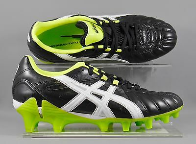 Asics (P159Y-9901) Gel-Lethal Tigreor 8 K Adults Rugby Boots - Black/Green